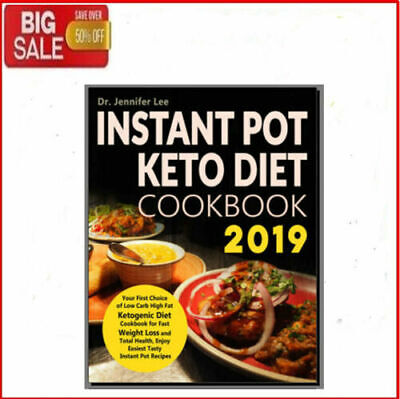 Instant Pot Keto Diet Cookbook 2019 - Eb00k/PDF - FAST Delivery