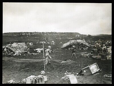 1945 WWII Iwo Jima 5th US Marine Division in the Pacific Type 1 Original Photo