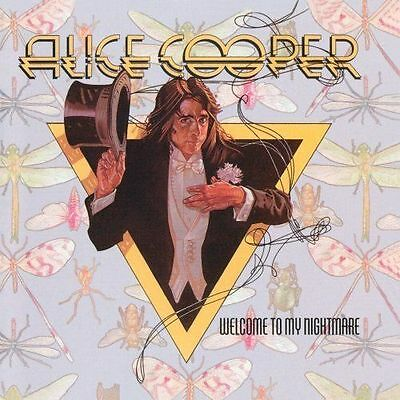 *NEW* CD Album Alice Cooper - Welcome To My Nightmare  (Mini LP Style Card Case)