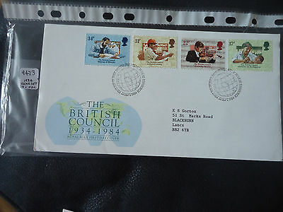 great britain 1984 year set (no handwritten) 9x First Day Covers