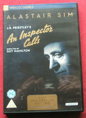 An Inspector Calls DVD. 60th Anniversary Edition with Jane Wenham interview.