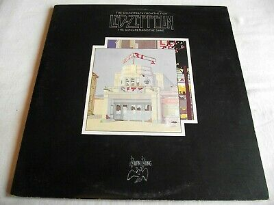 LED ZEPPELIN ~ THE SONG REMAINS THE SAME ** 1976 SWAN SONG DBL LP w/ BOOKLET