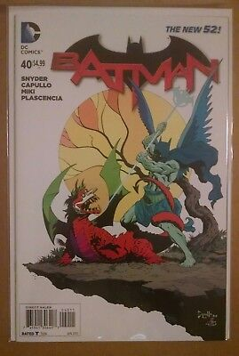 "Batman #40 new 52 2nd Print unread /""Death/"" of Batman /& The Joker"