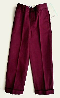 MONSOON Boys Trousers 4-5 6-7 Years Formal Cotton Charles Chinos Smart  £22