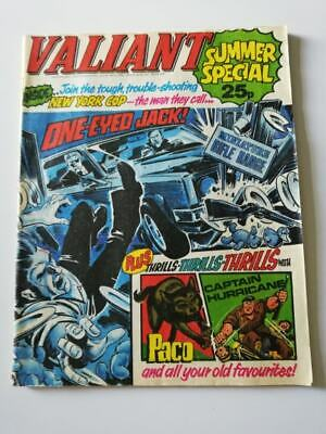 VALIANT Summer Special 1976. 1970s comic special, action, adventure FREE UK P+P