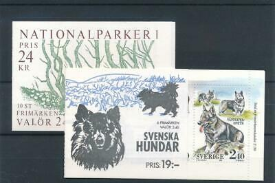[123157] Sweden good complete booklets (2) very fine MNH