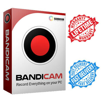 Bandicam Screen Recorder / game recorder🔑LIFETIME activation 🔑INSTANT DELIVERY