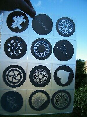 Job Lot - DHA Rosco Metal  GOBO (65mm) Collection + Others.