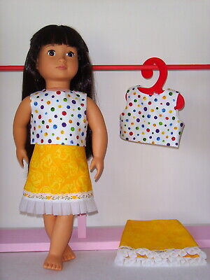 """Summer Skirt & Top ~ Clothes for Our Generation/American Girl 18"""" Dolls"""