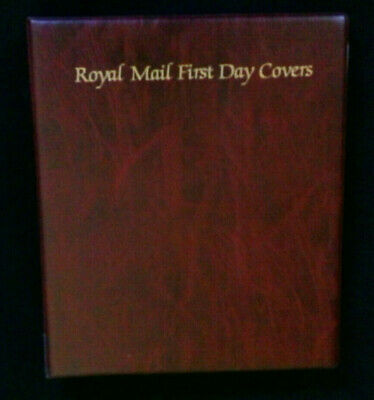 Royal Mail - First Day Cover Album With 20 Double Pocket Sleeves