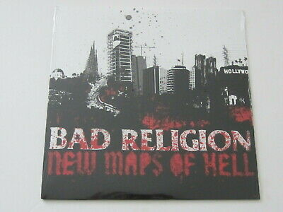 BAD RELIGION New Maps Of Hell LP epitaph records PUNK SEALED