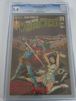 Wonder Woman #192 1971 CGC 9.4 Off-White Pages