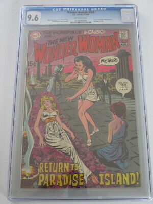 Wonder Woman #183 1969 CGC 9.6 Off-White Pages