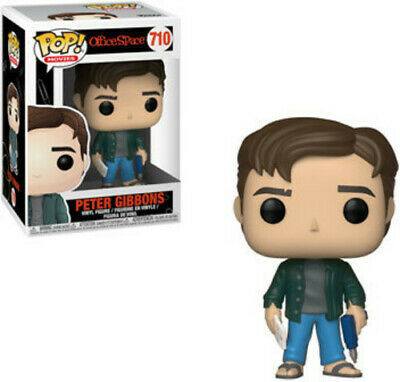 FUNKO POP! MOVIES: Office Space - Peter Gibbons [New Toys] Vinyl Figure