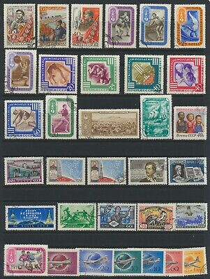 Russian Stamps - Singles - C.T.O. - Lot A-133