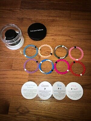 Limited edition Lokai 5 Pack + 3 Extra Bracelets