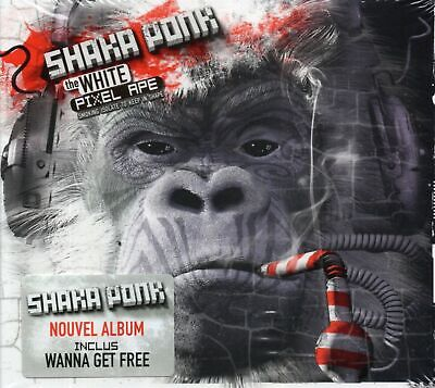 Shaka Ponk - The White Pixel Ape Smoking Isolate To Keep In Shape (2014 CD) New