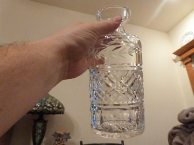 """GORGEOUS VINTAGE Waterford Cut Glass Crystal Decanter and Stopper GLANDORE 9.12"""""""