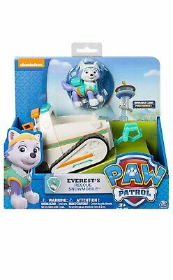 Spin Master Paw Patrol Everest's Rescue Snow Mobile Vehicle & Figure