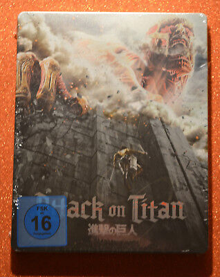 Bluray Attack on Titan Steelbook Import New & Sealed *READ*