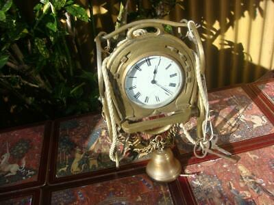 Vintage Timepiece  Platform escapement   Clock With key