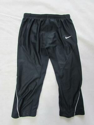 NIKE DRI-FIT Girls Black Leggings Running Exercise Size S GB 36/38 Height 173