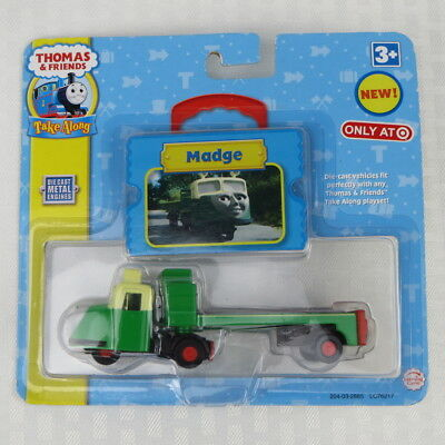 MADGE - THOMAS & Friends Take Along Die-Cast - Learning Curve - New Sealed