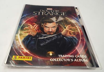 PANINI MARVEL 'Doctor Strange' Trading Cards - FULL SET + BINDER - C05