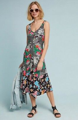 687cda77338d $148 NEW MAEVE Anthropologie Violette Floral Dress IN STORES NOW But Sold  Out 4