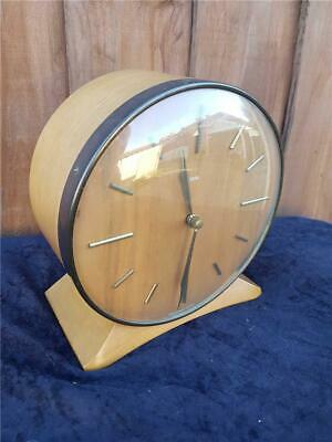 """Vintage 1950's Wooden Mantel Clock by """"Smiths"""""""