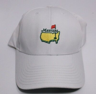 690f1f3bbf6c8 Masters Golf White StrapBack Hat Augusta National AUTHENTIC American Needle