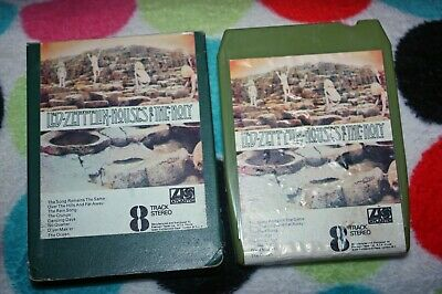 Led Zeppelin - Houses Of The Holy - Uk Rock 8-Track Tape 1973 In Card Sleeve