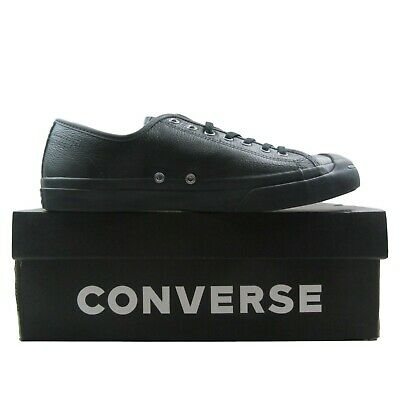 3b33f2f7f911 Converse JP Jack Purcell OX Leather Shoes Mens Size 11.5 Triple Black  162596C