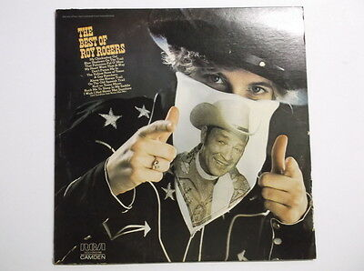 The Best of Roy Rogers - Country LP VINYL Record 1975 WESTERN