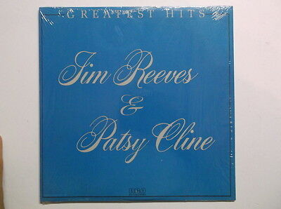 Jim Reeves & Patsy Cline Greatest Hits VINYL LP RECORD RCA AHL 4127