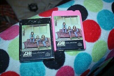 Crosby Stills And Nash - Us 8 Track Tape 1971 - Rare In Picture Sleeve
