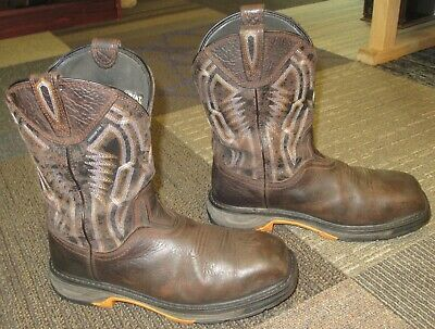 f0f9374b3fe MENS ARIAT WORKHOG XT Dare Carbon Toe Leather Work Boots sz 9.5 EE