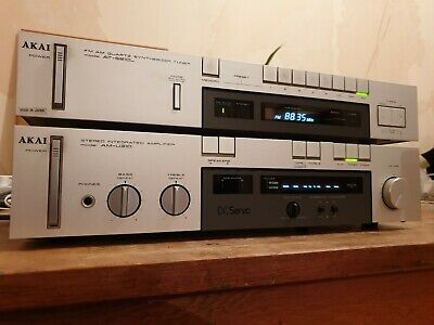 Akia am-u310 Amplifier and matching at-s210l tuner 1982 vintage
