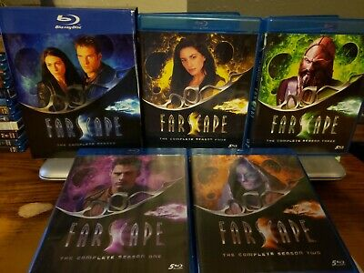 Farscape: The Complete Series  [Blu-ray] (20 Blu-ray Disc) Free Shipping