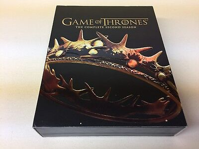 Game Of Thrones Blue Ray The Complete Second Season (Hbo/Like New/See Photos)
