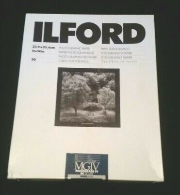 Ilford Multigrade IV Fiber based photographic paper 11x14 open box (almost full)