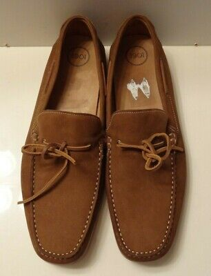 e2b26f0b62b 1901 Driving Mocs Nordstrom brown Suede Loafers Slip On Shoes Men s sz 15 M