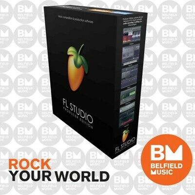 Image Line Fruity Loops FL Studio 20 (Producer Edition) - Brand New