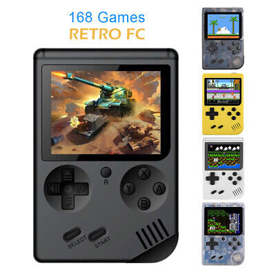 Console Portatile 8 Bit 168 Giochi Videogioco Display Lcd Video Game Boy Girl