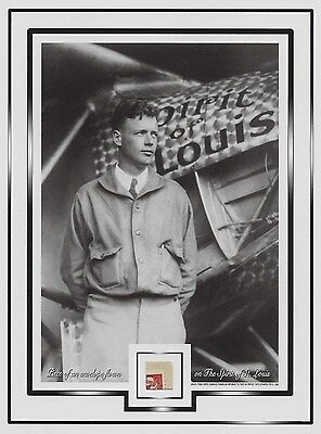 Piece envelope/cover FLOWN ON Charles Lindbergh's THE SPIRIT OF ST. LOUIS, fly