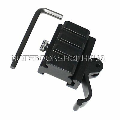 "2PCS Quick Release Detach QR QD 1/2"" Riser Mount for Picatinny Rail - 3-Slot"