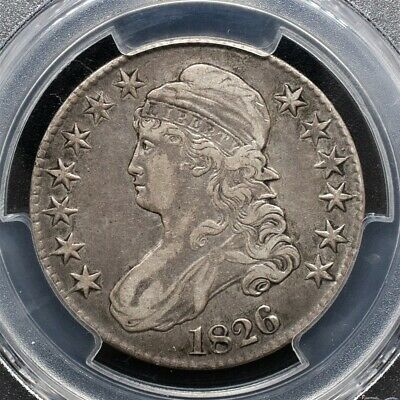 1826 Capped Bust Half Dollar Overton O-112a - PCGS XF40
