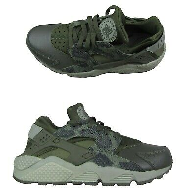 552fdc892b07 Nike Air Huarache Run Premium Running Shoes Size 10 Womens Python 683818  302 New