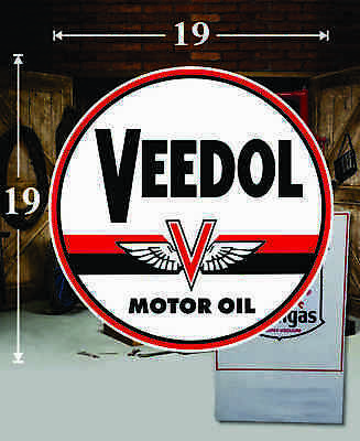 "Veedol 8/"" Water Transfer Decal DW411"