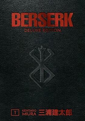 Berserk Deluxe Volume 1 by Kentaro Miura Hardcover Book Free Shipping!